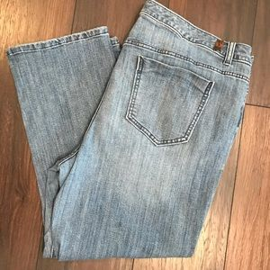 Simply Vera Capri mid rise jeans